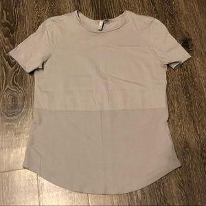 ASOS gray blouse
